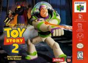 Scan of front side of box of Toy Story 2: Buzz Lightyear to the Rescue
