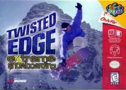 Scan of front side of box of Twisted Edge Extreme Snowboarding