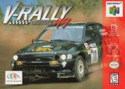 Scan of front side of box of V-Rally Edition '99
