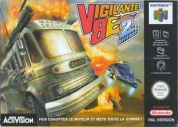Scan of front side of box of Vigilante 8: Second Offense