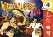 Scan of front side of box of Virtual Chess 64