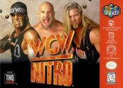 Scan of front side of box of WCW Nitro