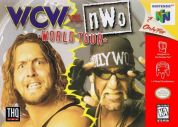 Scan of front side of box of WCW vs. NWO: World Tour