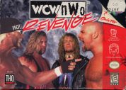 Scan of front side of box of WCW/NWO Revenge