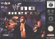 Scan of front side of box of WWF No Mercy