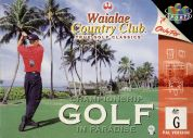 Scan of front side of box of Waialae Country Club: True Golf Classics