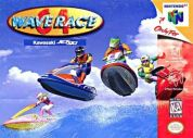 Scan of front side of box of Wave Race 64