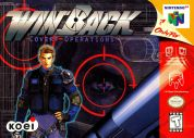 Scan of front side of box of WinBack: Covert Operations