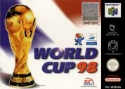 Scan of front side of box of World Cup 98