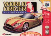 Scan of front side of box of World Driver Championship