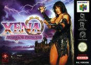 Scan of front side of box of Xena: Warrior Princess - The Talisman of Fate