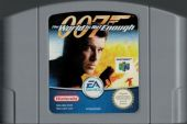 Scan of cartridge of 007: The World is not Enough