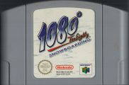 Scan of cartridge of 1080 Snowboarding