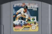Scan of cartridge of All-Star Baseball 2000