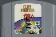 Scan of cartridge of ClayFighter 63 1/3