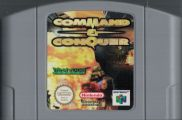 Scan of cartridge of Command & Conquer
