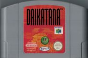 Scan of cartridge of Daikatana