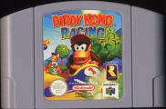 Scan of cartridge of Diddy Kong Racing
