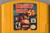 Scan of cartridge of Donkey Kong 64