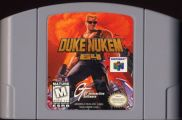 Scan of cartridge of Duke Nukem 64