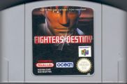 Scan of cartridge of Fighters Destiny