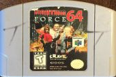 Scan of cartridge of Fighting Force 64