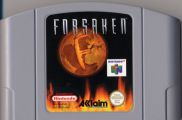 Scan of cartridge of Forsaken