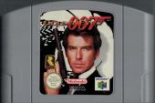 Scan of cartridge of Goldeneye 007