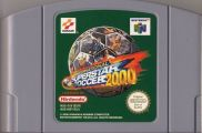 Scan of cartridge of International Superstar Soccer 2000