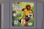 Scan of cartridge of International Superstar Soccer 98