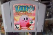 Scan of cartridge of Kirby 64: The Crystal Shards