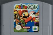 Scan of cartridge of Mario Golf