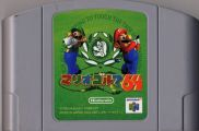 Scan of cartridge of Mario Golf 64