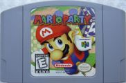 Scan of cartridge of Mario Party