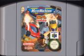 Scan of cartridge of Micro Machines 64 Turbo