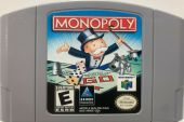 Scan of cartridge of Monopoly