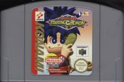 Scan of cartridge of Mystical Ninja Starring Goemon