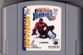 Scan of cartridge of Olympic Hockey Nagano '98