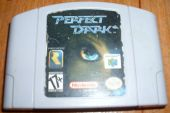 Scan of cartridge of Perfect Dark