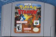 Scan of cartridge of Pokemon Stadium - Not For Resale (V 1.1 (A))