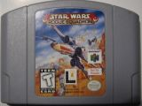 Scan of cartridge of Star Wars: Rogue Squadron