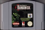 Scan of cartridge of Tom Clancy's Rainbow Six