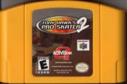 Scan of cartridge of Tony Hawk's Pro Skater 2
