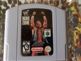 Scan of cartridge of WWF War Zone