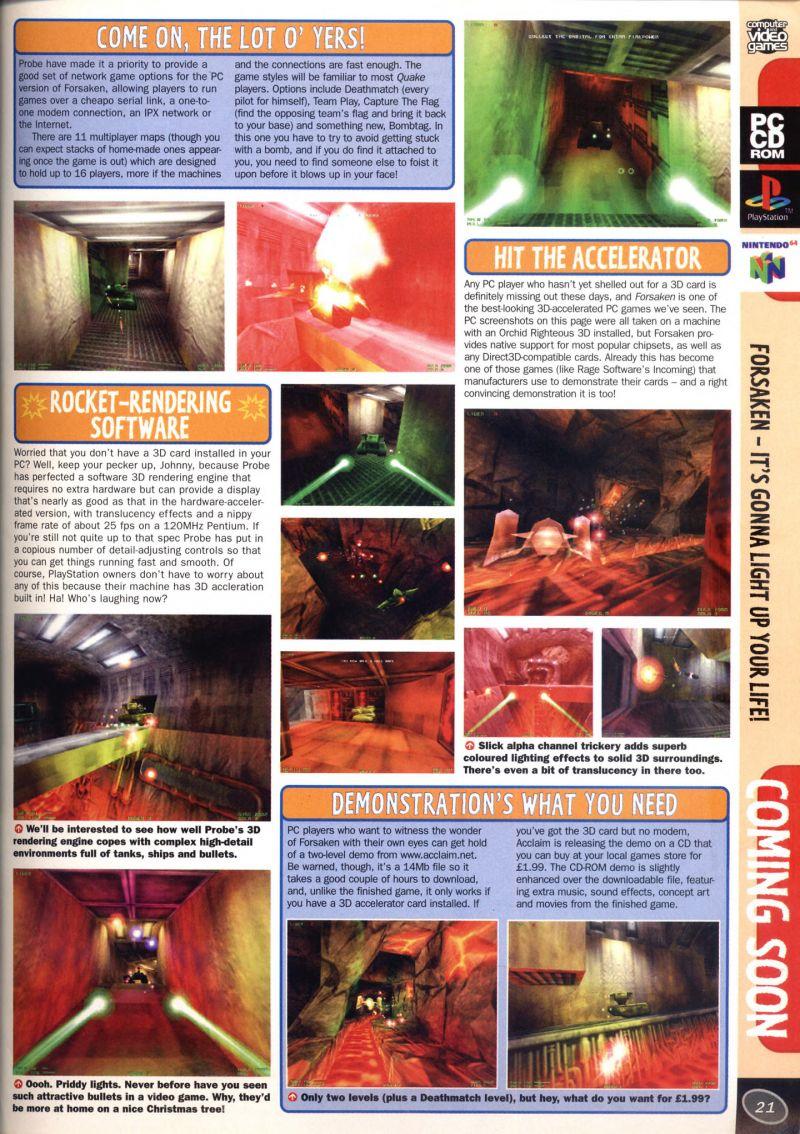 Nintendo64EVER - All the previews of Nintendo 64 games