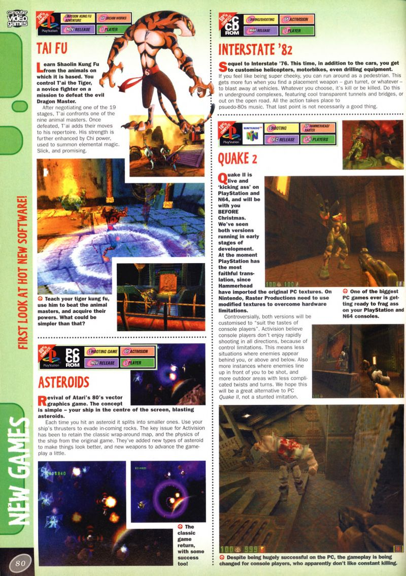 Nintendo64EVER - Previews of the game Quake II on Nintendo 64