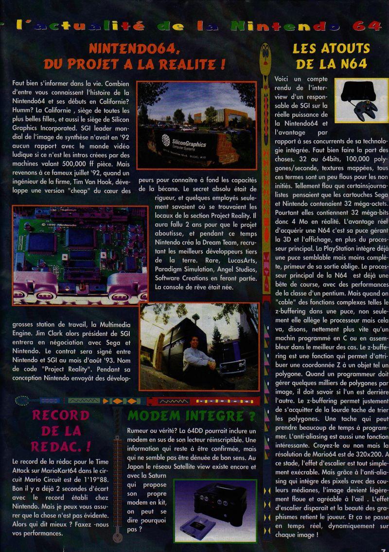 Nintendo64EVER - The Consoles News 11 magazine content