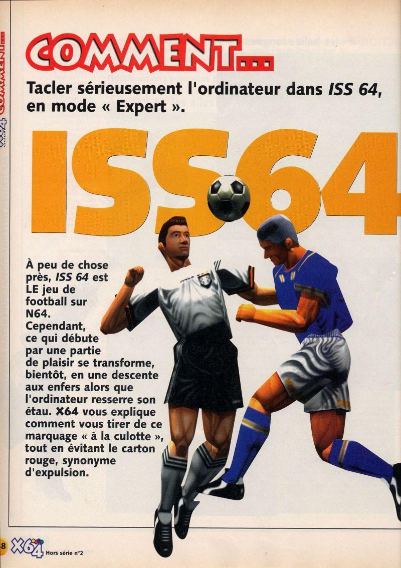 Nintendo64ever The Walkthroughs For The Game International