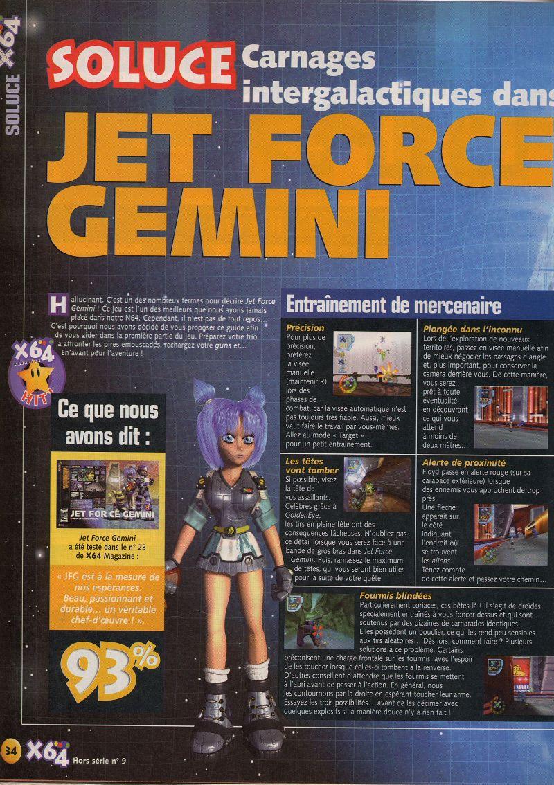 jet force gemini n64 guide