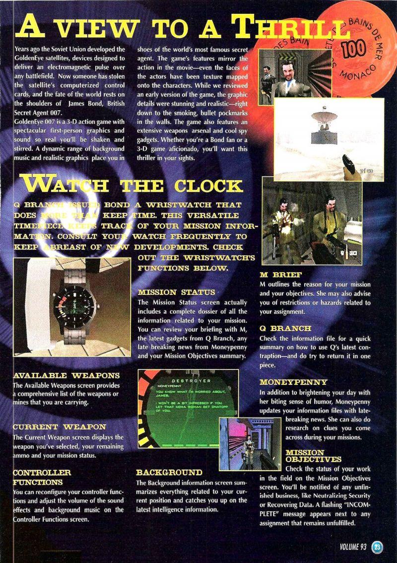 Nintendo64EVER - The walkthroughs for the game Goldeneye 007 on